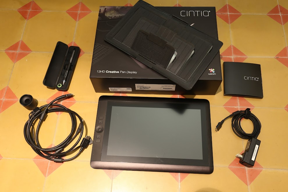 Review: Wacom Cintiq 13HD Pen Display Tablet | Parka Blogs