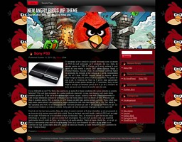 New Angry Birds WP Theme