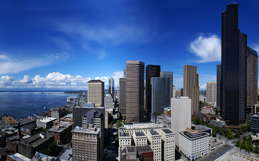 Seattle City in United States