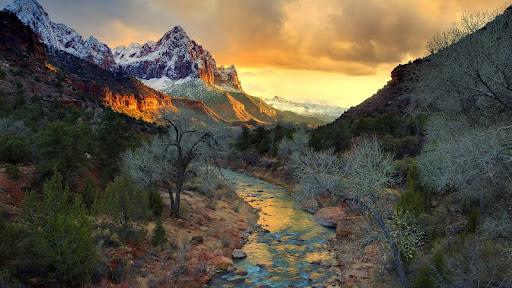 View From Watchman Bridge, Zion National Park, Utah.jpg