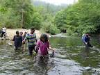 First river crossing along Rincon Fire Rd