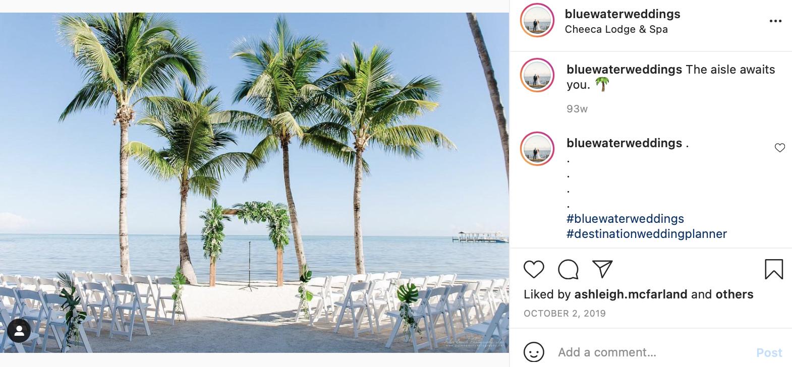 wind-proof wedding decor