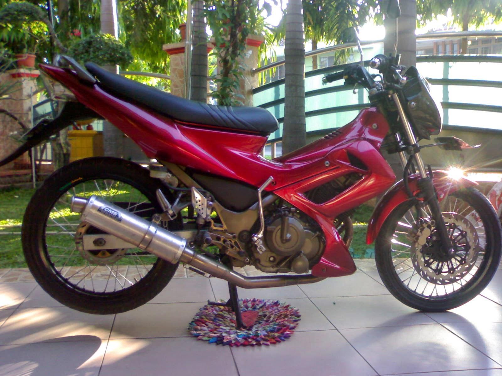 Koleksi Foto Modifikasi Motor Satria Fu Standar Terbaru Modispik Motor