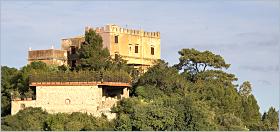 Sizilien - Schloß von Sciara. Sitz der Familie Notarbartolo