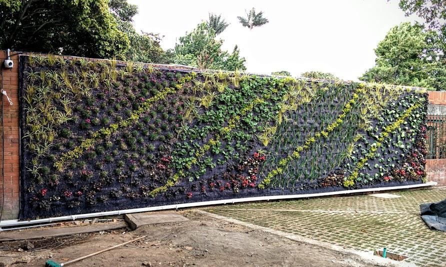 Jardín vertical Bogotá