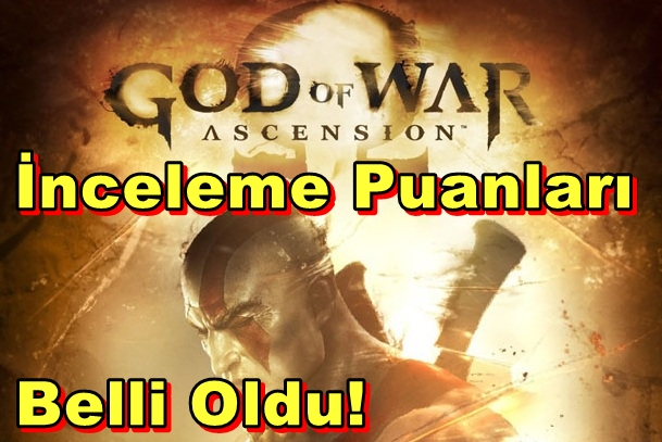 God of War: Ascension'un İnceleme Puanları Belli Oldu!