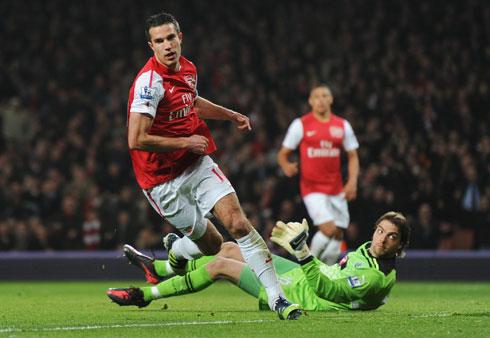 Robin van Persie, Arsenal - Newcastle