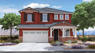 Columbus floor plan Discovery at Morrison Ranch by Lennar Homes