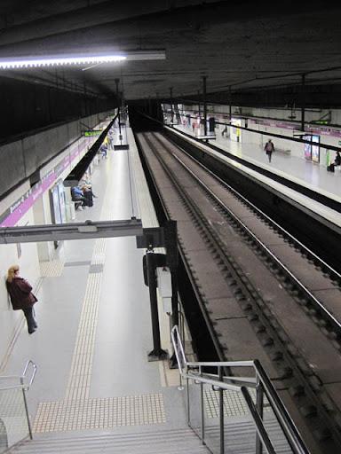 地下鉄@バルセロナ