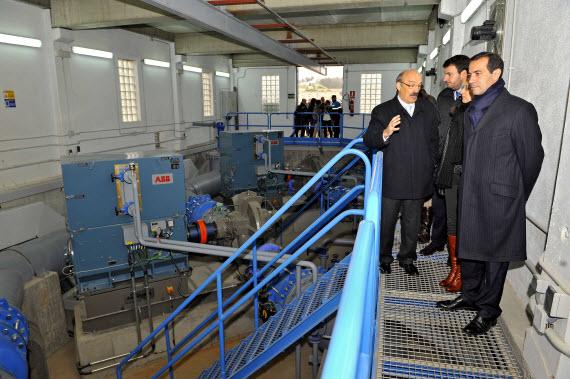Nueva estación elevadora del depósito de agua potable La Montaña en Aranjuez