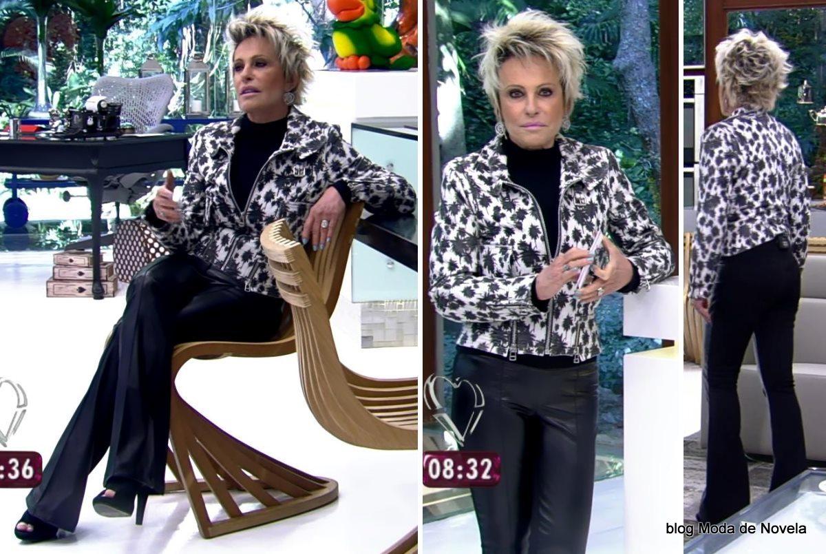 moda do programa Mais Você - look da Ana Maria Braga