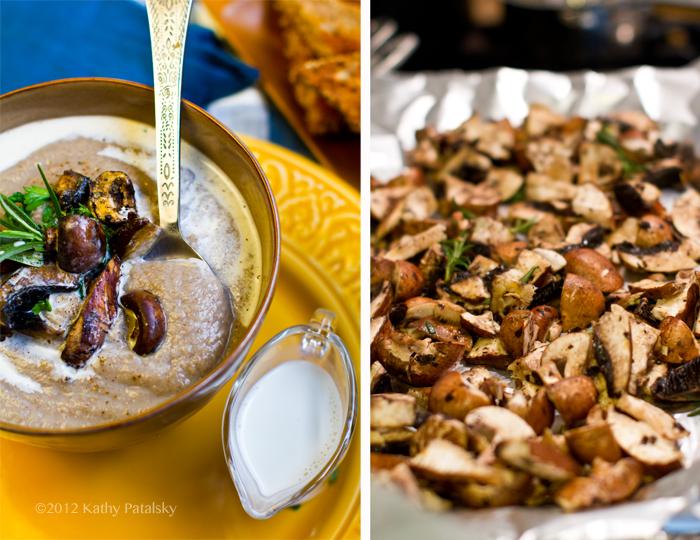 Vegan Mushroom Soup No Cream Of Mushroom Healthyhappylife Com