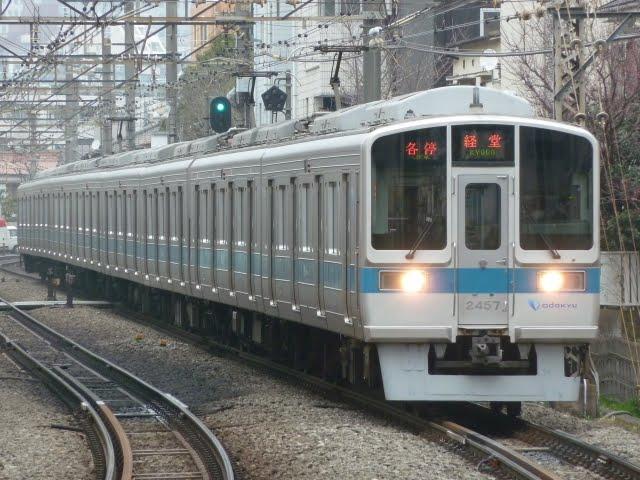 小田急電鉄 各停 経堂行き 2000形(東京電力計画停電)