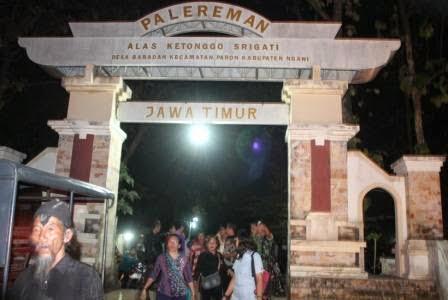 berita terkait malam 1 suro di alas ketonggo atau srigati kabupaten Ngawi