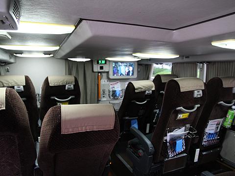 西日本鉄道「はかた号」 0002 1階席エコノミーシート