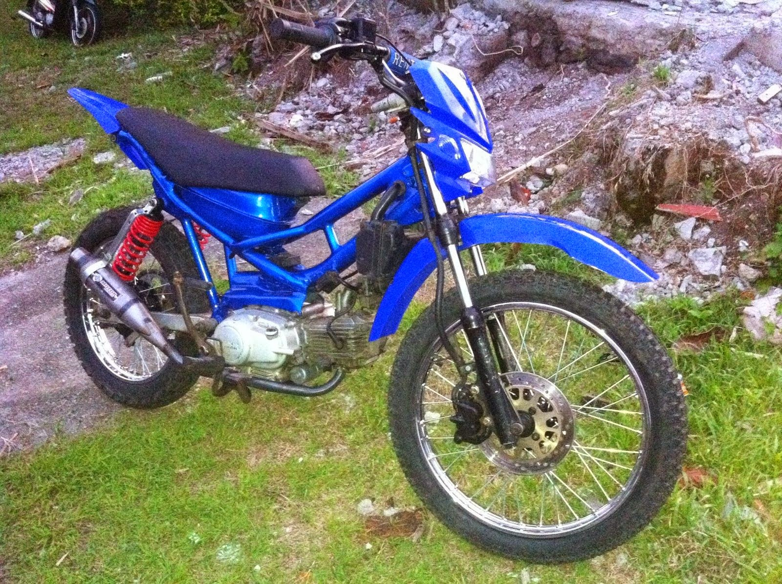 Modifikasi Motor Trail Yamaha Force 1