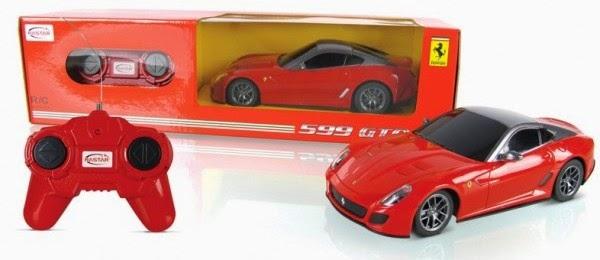 Mô hình Ferrari 599 GTO điều khiển từ xa là món đồ chơi bổ ích và lý thú