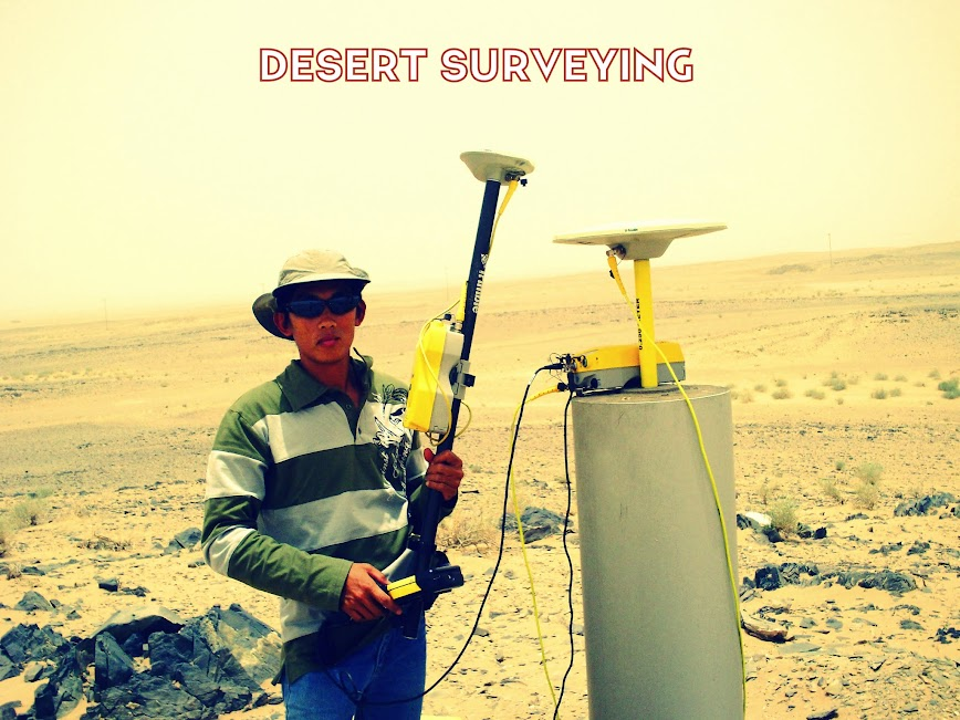 Desert Surveying Photos