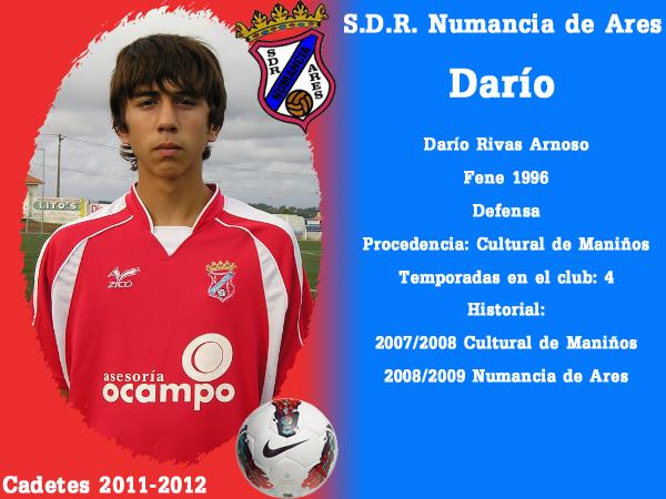 ADR Numancia de Ares. Cadetes 2011-2012. DARIO.