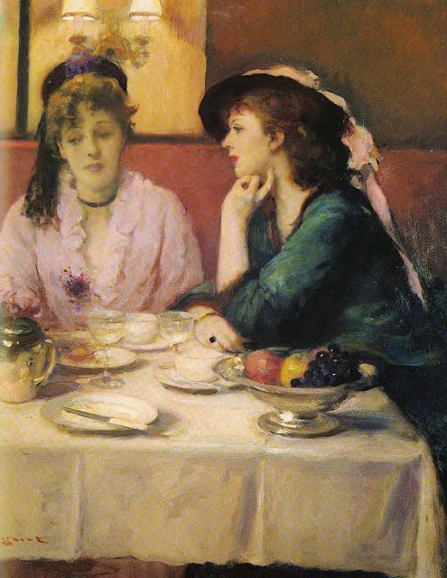 Fernand Toussaint - Confidences Au Dejeuner.