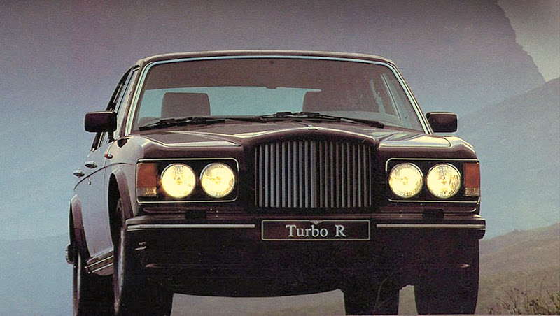 Bentley Turbo R Press Shot