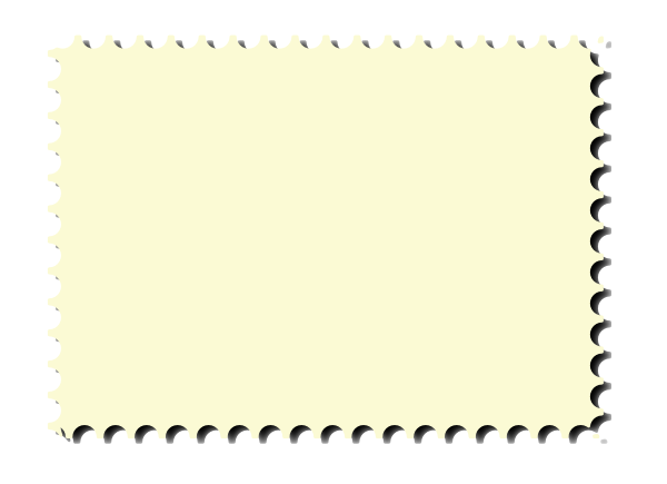 Perforated Postage Stamp Border With Inkscape