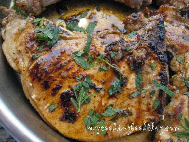 Мариновани ароматни пържоли