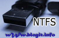 Can't format USB drive in NTFS format