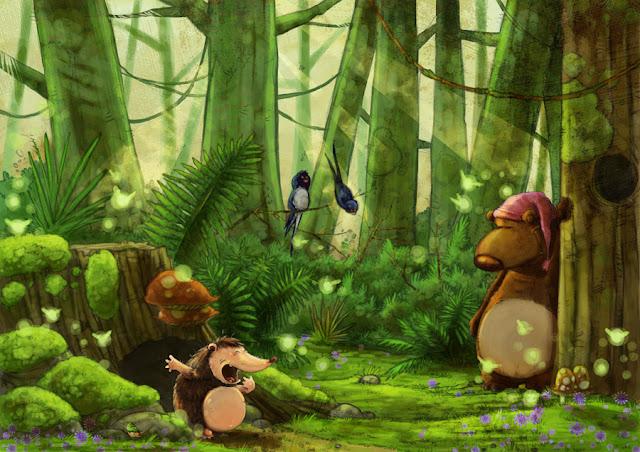 féerie lutins nature course blog pioupiou piou escargot pie foret width=