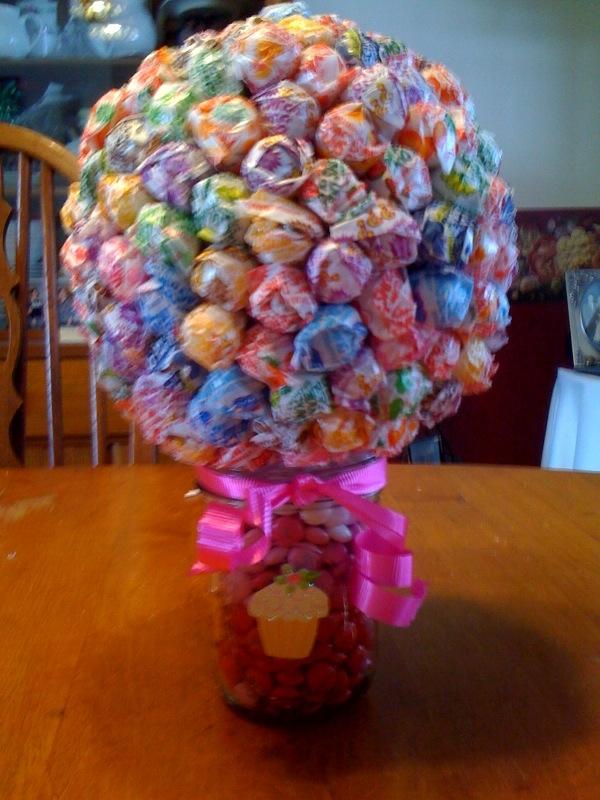Mason jar candy centerpiece ideas easy craft