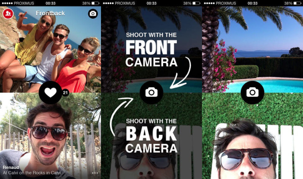 Scattare fotografie con entrambe le Fotocamere dello SmarthPhone