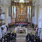 875 Jahre Stift Wilten und Stift St. Georgenberg-Fiecht - Pontifikalamt in der Stifts- und Pfarrkirche Fiecht - 28.04.2013
