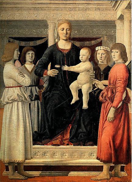 Piero della Francesca - Madonna col Bambino