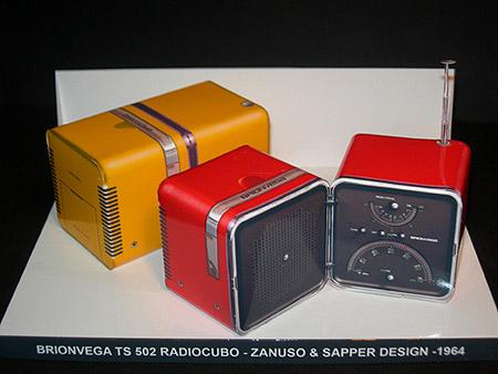 Brionvega Radio Cube Papercraft
