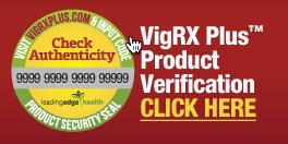 Chứng nhận sản phẩm Vigrx plus chính hãng