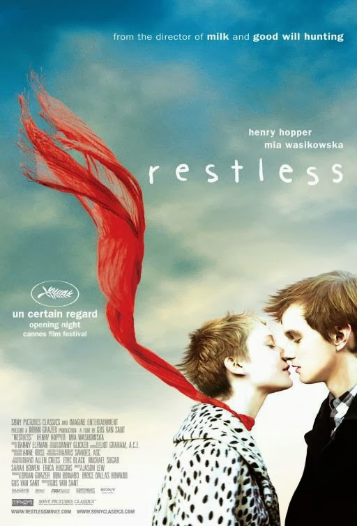 Poster Of Restless (2011) Full Movie Hindi Dubbed Free Download Watch Online At Alldownloads4u.Com