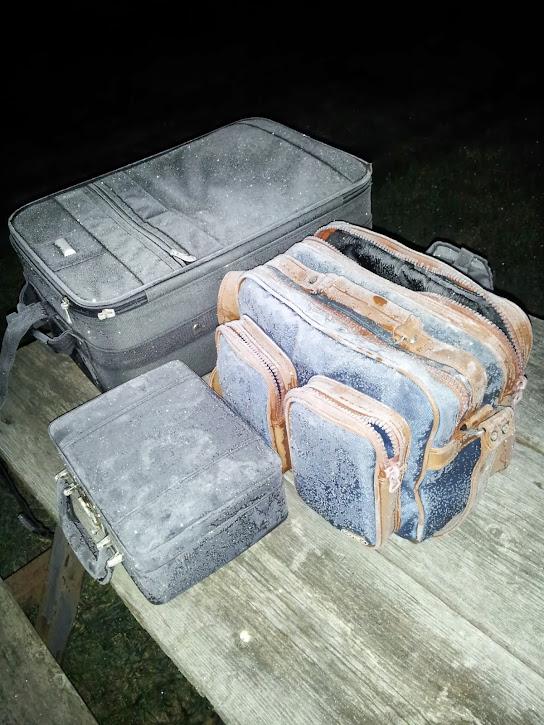 Frozen astrophotography equipment cases