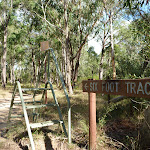 Six Foot Track crossing near the Megalong Ford (412193)
