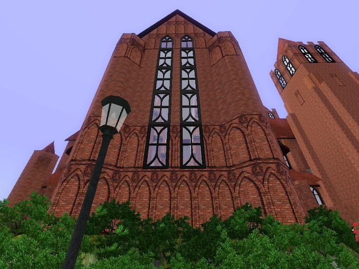 kerk,kirka,sims3,cathedral,sim dels