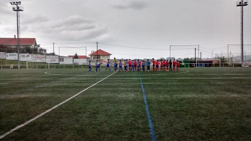 Instante partido de infantís Numancia - Ánimas (Prados Vellos 31/10/2014).