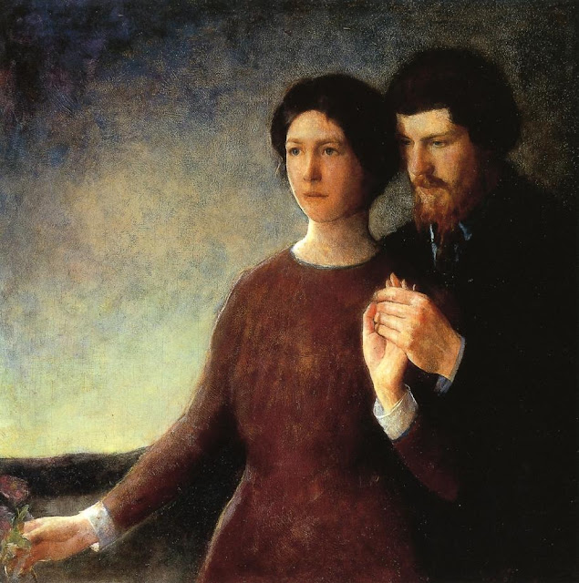 Charles Webster Hawthorne - The Lovers