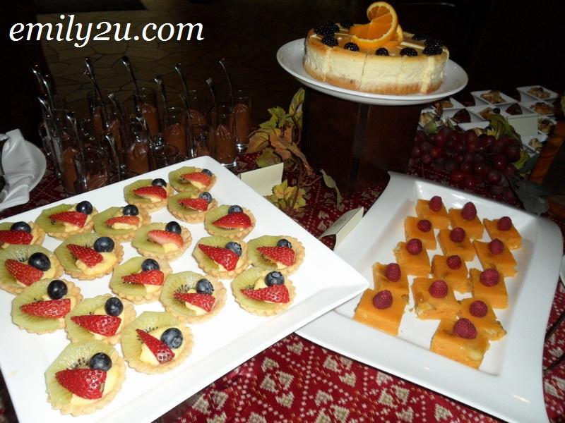 Banjaran fruit tartlets