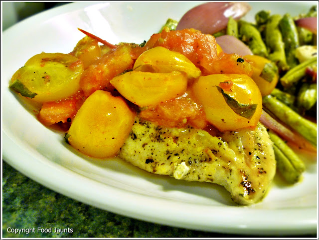 Italian Cherry Tomato Chicken