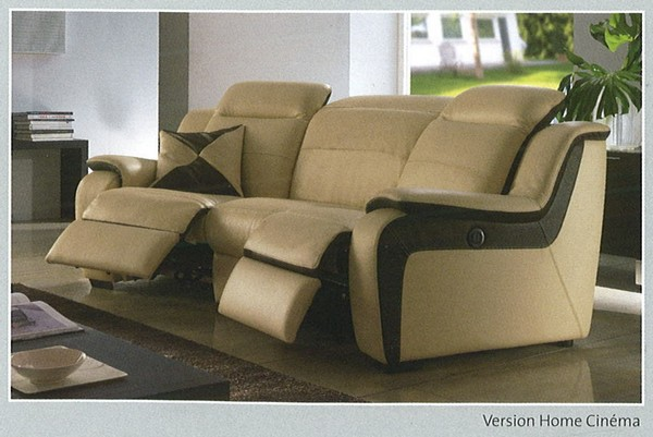 chateau dax modle relax form version homecinema - Chateau D Axe Canape