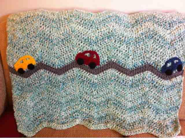 Jenns Yarn Addiction Crochet Car Blankie