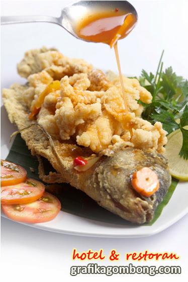 aneka masakan ikan masakan khas tradisional indonesia