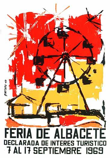 Cartel Feria Albacete 1969