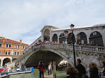 The Rialto is a beautiful bridge