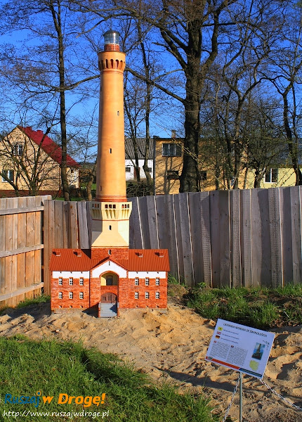 Kaszubski Park Miniatur Strysza Buda - Latarnia Świnoujście
