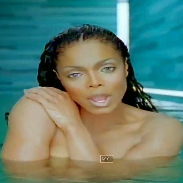 "Janet Jackson's nakedness in ""Everytime"" video left plenty to the imagination. Bingo!"
